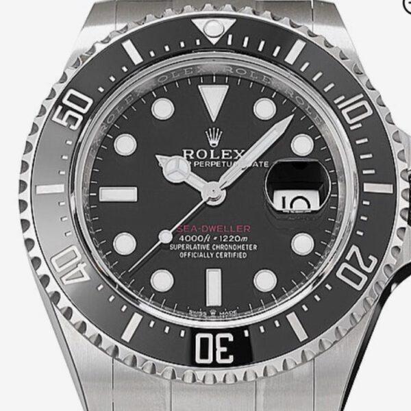 Rolex Sea Dweller 03-20 Rotschrift 126600 NEU