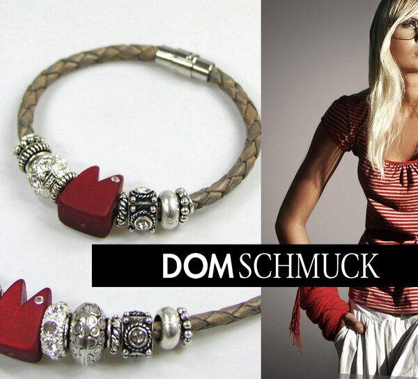 Lederarmband Dom-Schmuck