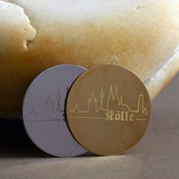 Schmuckscheibe Dom-Schmuck Skyline My iMenso 925/ Silber