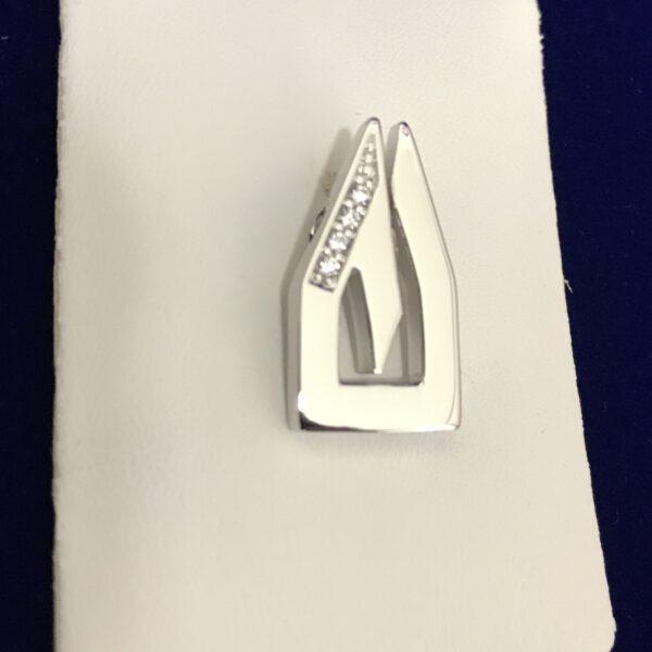 Anhänger DOM 925/ Silber mit Swarovski Kristall
