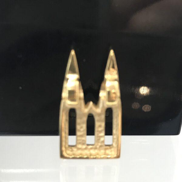 Anhänger DOM 925/ Silber vergoldet