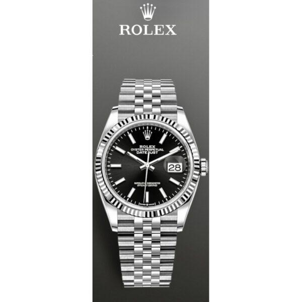 Rolex Datejust 36 -126234- Jubilee-Band Neu ungetragen