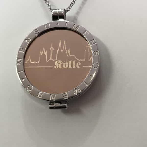 Medaillon Dom-Schmuck Skyline 925/ Silber My iMenso